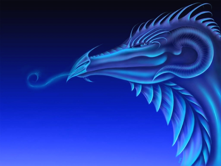 blue dragon wallpapers 3d images